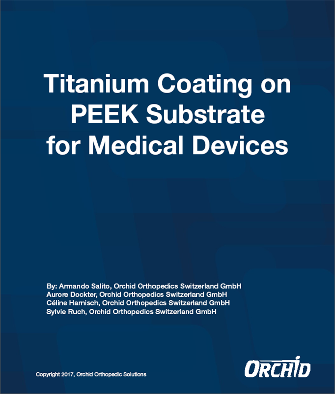 Titanium Coating On PEEK For Medical Devices